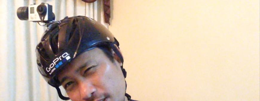 Leafy HelmetCam prototype