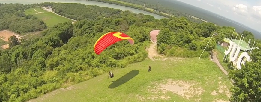 Paragliding with Hexacopters